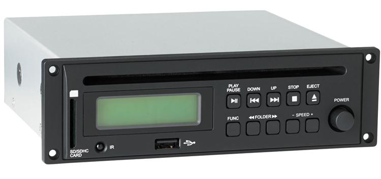 Audiophony CD-RUN CD/USB/SD/MP3 Player Option for mobile set